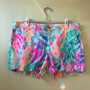 Lilly Pulitzer XL Size 14 Buttercup Shorts